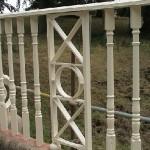 Repainted Detail within Railings