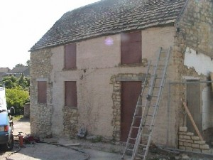 Stone House Before Blasting